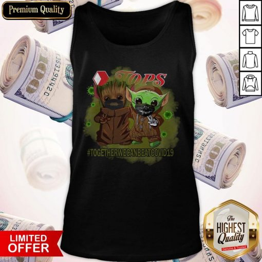Baby Groot And Baby Yoda Face Mask Star Wars Darth Vader Jops Together We Can Beat Covid 19 Tank Top