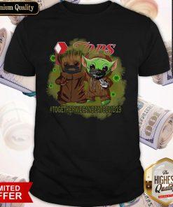 Baby Groot And Baby Yoda Face Mask Star Wars Darth Vader Jops Together We Can Beat Covid 19 Shirt
