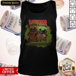Baby Groot And Baby Yoda Face Mask Star Wars Darth Vader VOns Together We Can Beat Covid 19 Tank Top
