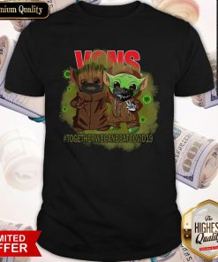 Baby Groot And Baby Yoda Face Mask Star Wars Darth Vader VOns Together We Can Beat Covid 19 Shirt