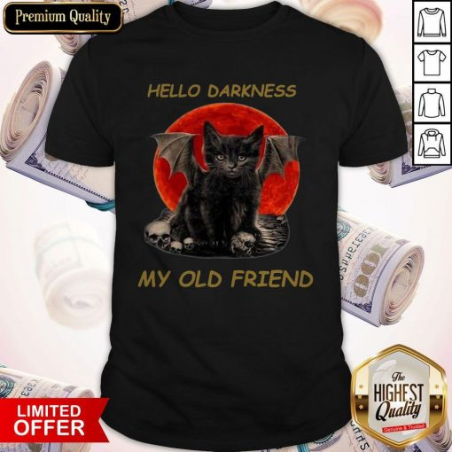Batcat Hello Darkness My Old Friend Shirt