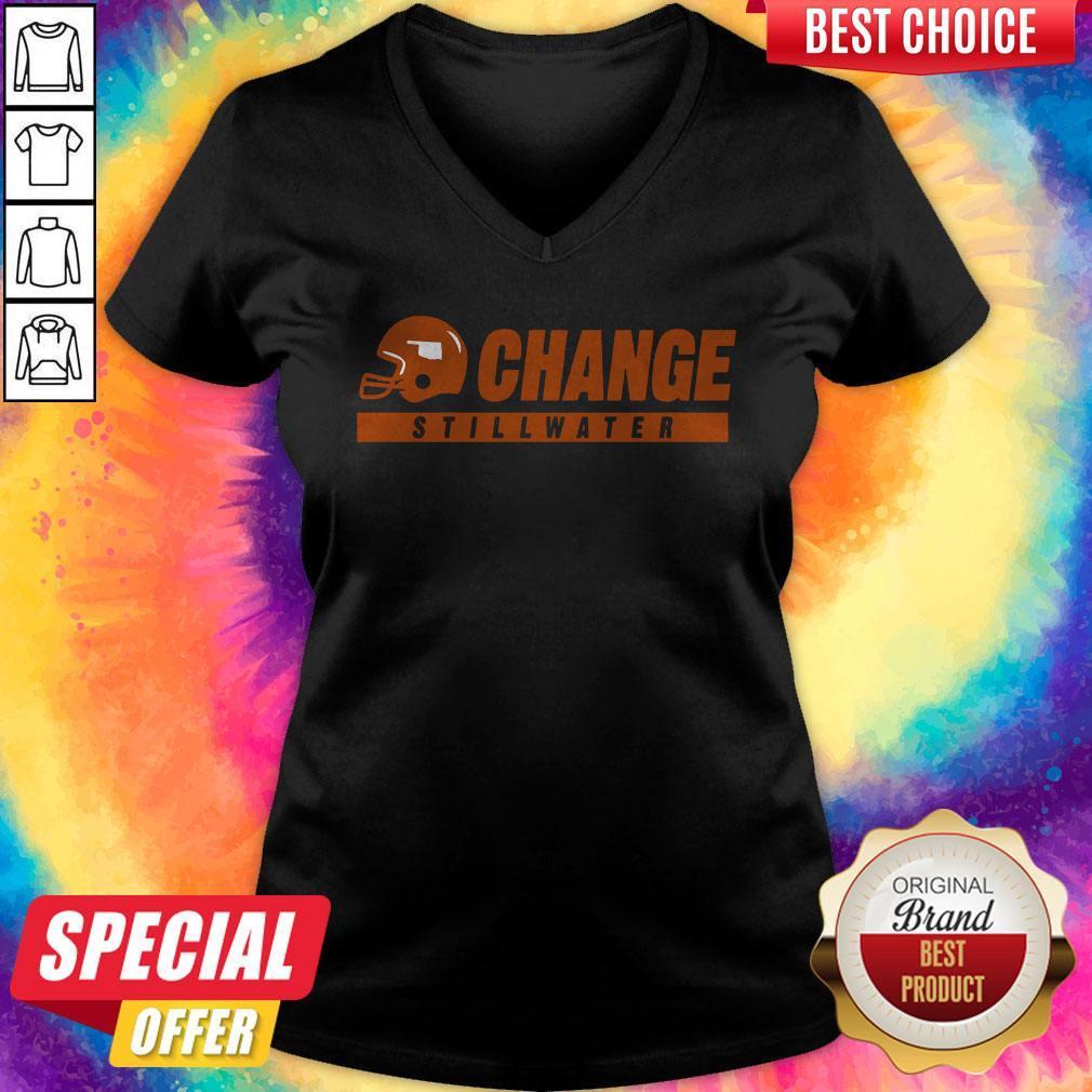 College Football Stillwater Change V- neck