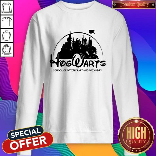 Cute Disney Land Hogwarts School Of Witchcraft And Wizardry Sweatshirt