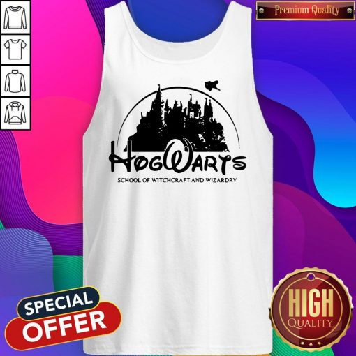 Cute Disney Land Hogwarts School Of Witchcraft And Wizardry Tank Top