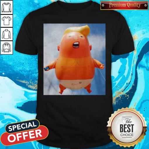 Donald Trump Baby Balloon Shirt