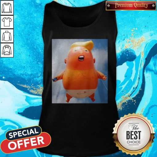 Donald Trump Baby Balloon Tank Top