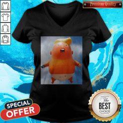 Donald Trump Baby Balloon V- neck