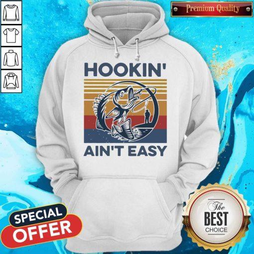 Funny Hookin' Ain't Easy Vintage Hoodiea