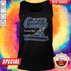 Get Your Catch 23 Fishing Charters The Goat Boat Tank Top
