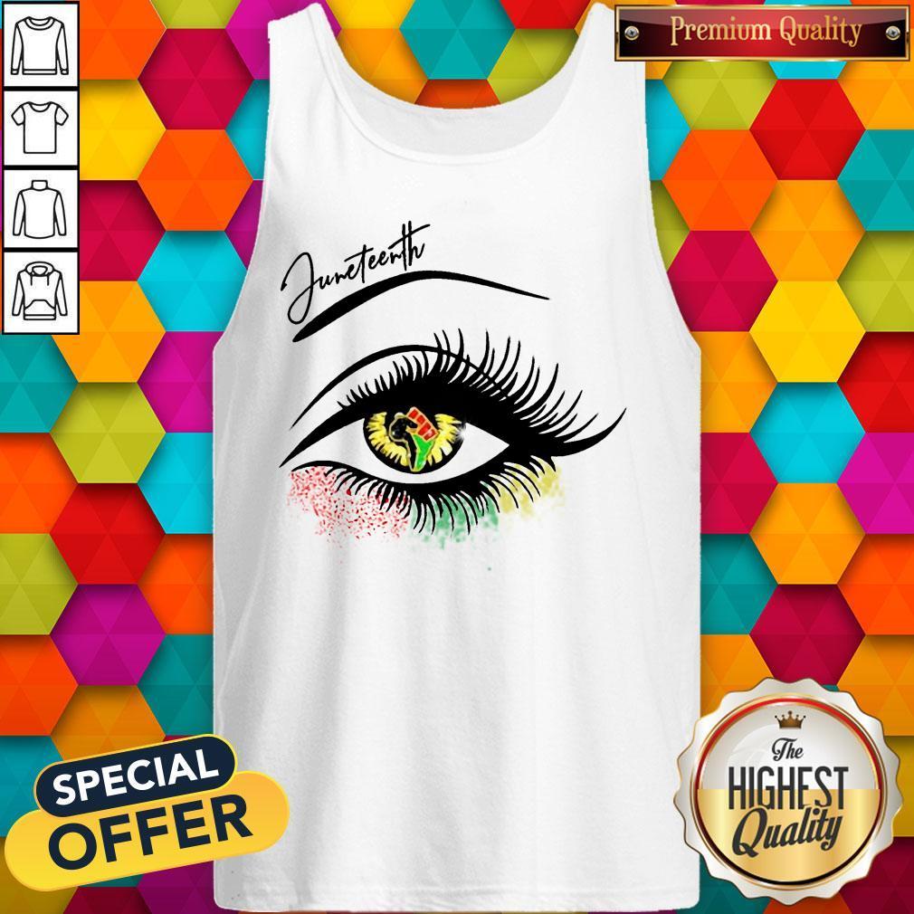 Good Juneteenth Colorful Eye Tank Top