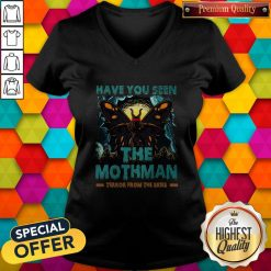 Have You Seen The Mothman Butterfly V- neck