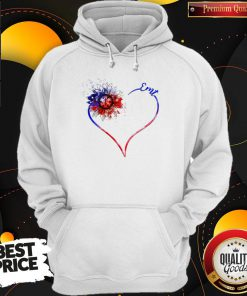 Heart Sunflower EMT Diamond Premium I Do It For My kids Hoodiea