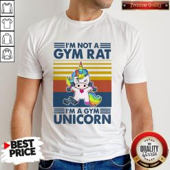 I'm Not A Gym Rt I'm A Gym Unicorn Vintage Shirt