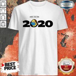Jeff Albertson Face Mask Worst Year Ever 2020 Shirt