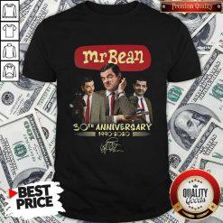 Mr Bean 30th Anniversary 1990 2020 Signature Shirt