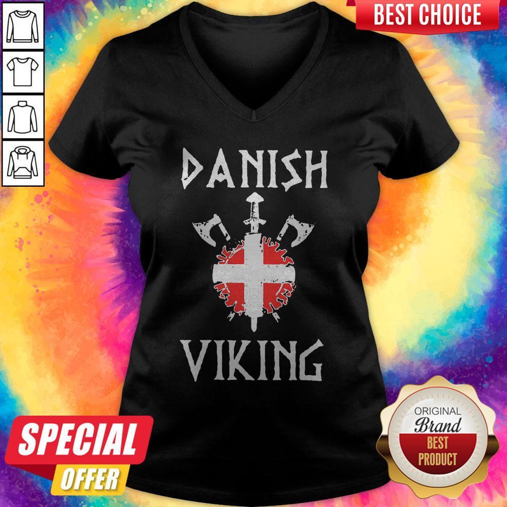 Nice Danish Viking V- neck