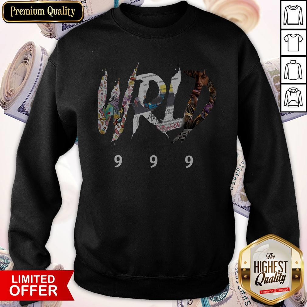 Nice RIP Juice WRLD 999 Sweatshirt