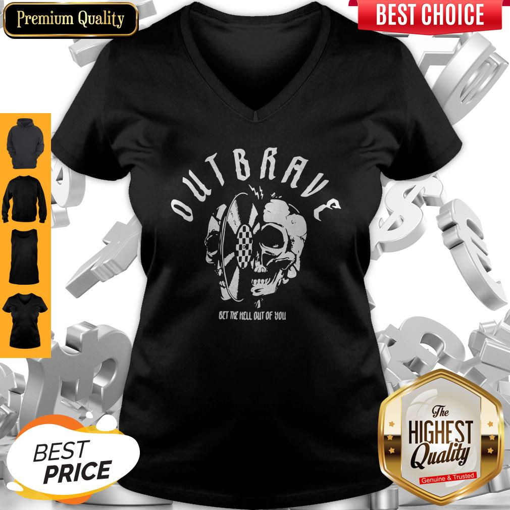 Official Outbrave Bet The Hell Out Of You V-neck