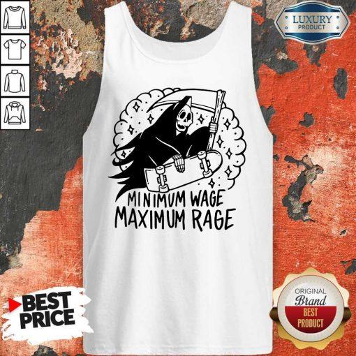 Perfect Minimum Wage Maximum Rage Tank Top