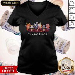 Premium Animal Crossing Villagers V- neck