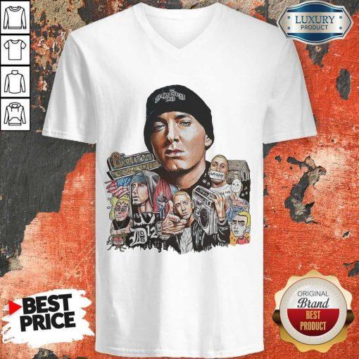Premium Eminem Shady 8 Mile As Mobile Cover V-neck