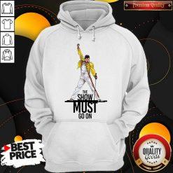Premium Freddie Mercury Queen The Show Must Go On Hoodie