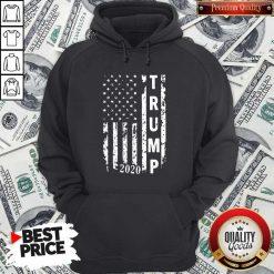 Trump 2020 Flag shirt Classic Hoodiea