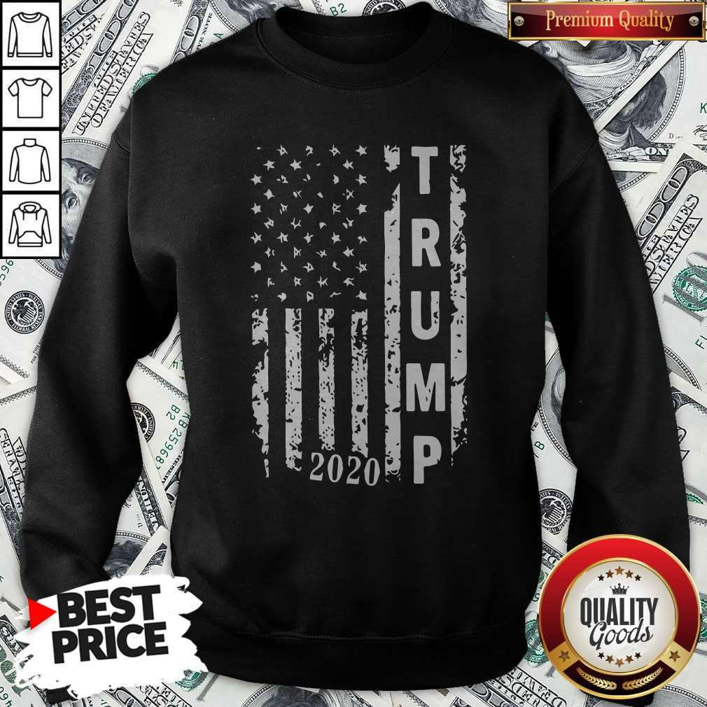 Trump 2020 Flag shirt Classic Sweatshirt