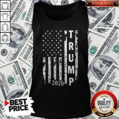 Trump 2020 Flag shirt Classic Tank Top