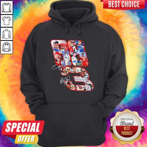 3 Dale Earnhardt Jr And 88 Dale Earnhardt Signatures Hoodie