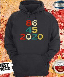 86 45 2020 Anti Trump Hoodie
