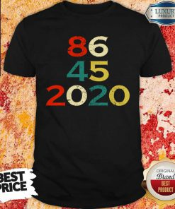 86 45 2020 Anti Trump Shirt