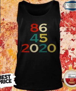 86 45 2020 Anti Trump Tank Top