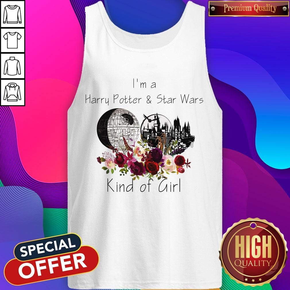 I'm A Harry Potter And Star Wars Kind Of Girl Tank Top
