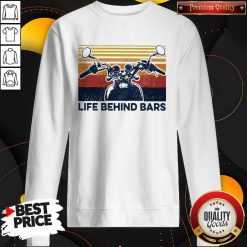 Life Behind Bars Motor Vintage Retro Sweatshirt