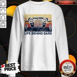 Life Bihind Bars Car Vintage Retro Sweatshirt