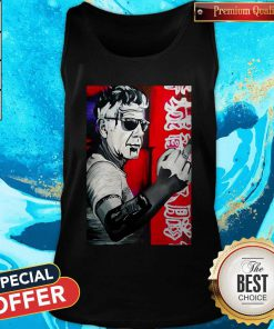 Anthony Bourdain Fuck Middle Finger Tank Top