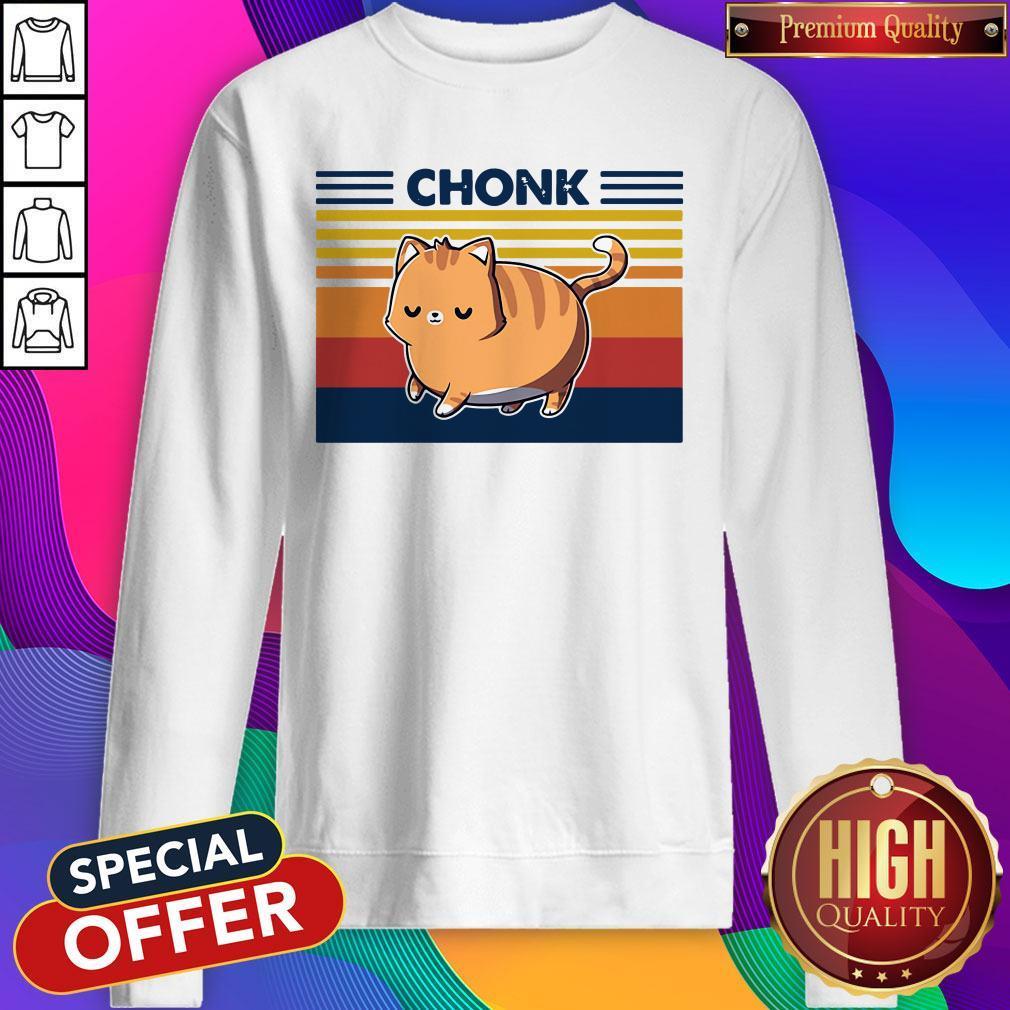 CAT Chonk Vintage Sweatshirt