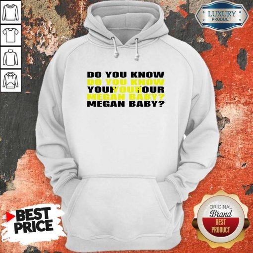 Do You Know Your Megan Baby Hoodie