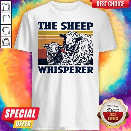Funny The Sheep Whisperer Vintage Shirt