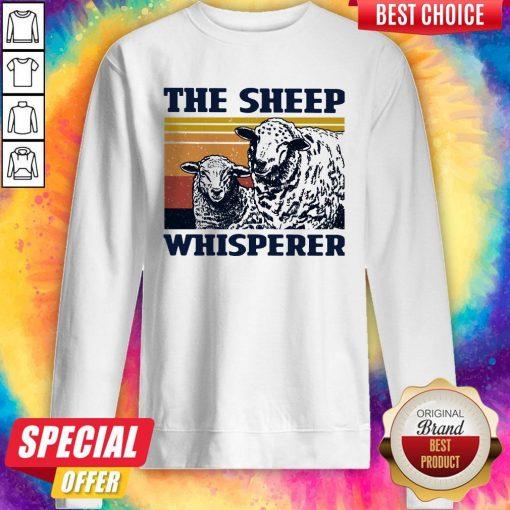 Funny The Sheep Whisperer Vintage Sweatshirt