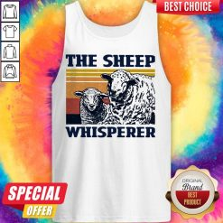 Funny The Sheep Whisperer Vintage Tank Top