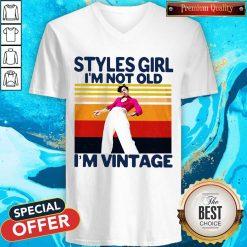 Harry Styles Girl I'm Not Old I'm Vintage V-neck