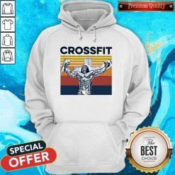 Jesus Strong Crossfit Vintage Hoodie