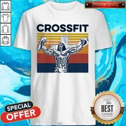 Jesus Strong Crossfit Vintage Shirt