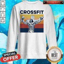 Jesus Strong Crossfit Vintage Sweatshirt