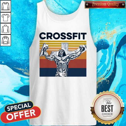 Jesus Strong Crossfit Vintage Tank Top