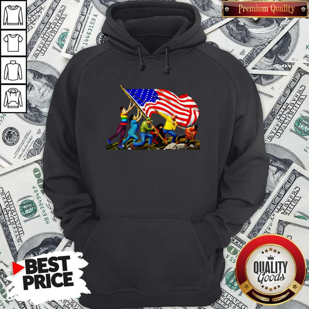 Official America The Melting Pot Hoodie