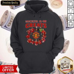 Manchester All Time Greats Signatures Hoodie