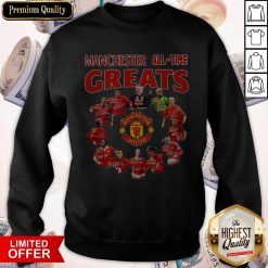 Manchester All Time Greats Signatures Sweatshirt